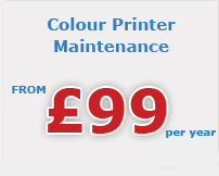 colour printer maintenance Gwent